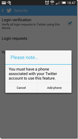 How to enable login verifications on Twitter from